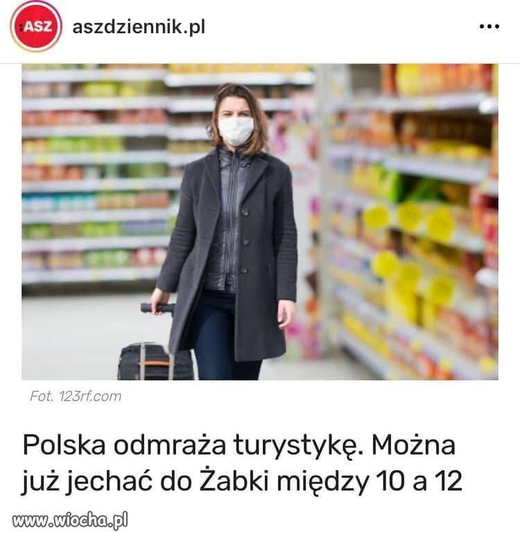 Polska turystyka 2021
