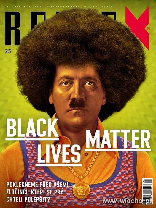 Czeskie czasopismo Reflex o BLM