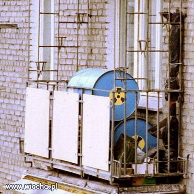Z cyklu rosyjskie balkony.