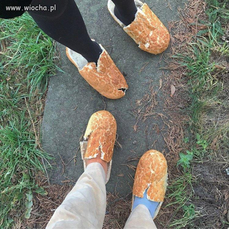 Buty z chleba