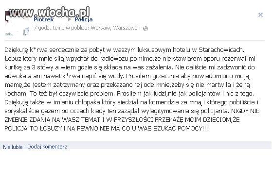Nasza kochana policja...