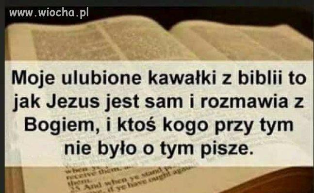 Ulubione kawałki z Biblii