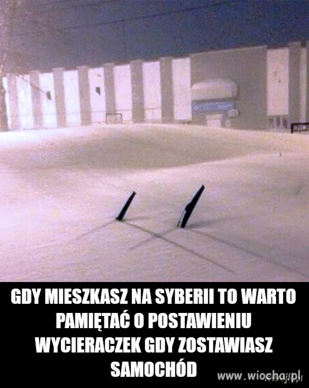 Gdy mieszkasz na Syberii
