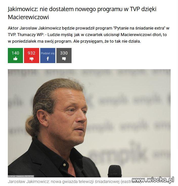 """""""Gwiazda"""" w sam raz do TVpis"""