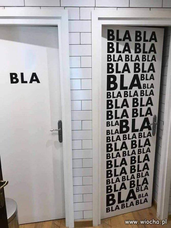 Która toaleta...