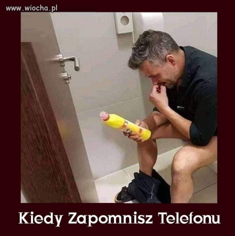 Bez telefonu