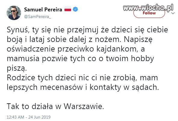 Bezprecedensowy atak pracownika Telewizji Polskiej