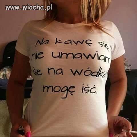 Ładna koszulka...