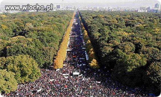 W Niemczech gigantyczne protesty przeciwko ISIS