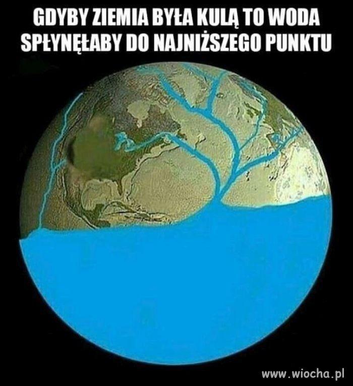 Ziemia jest płaska...