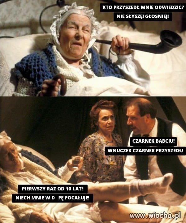 Odwiedziny babci