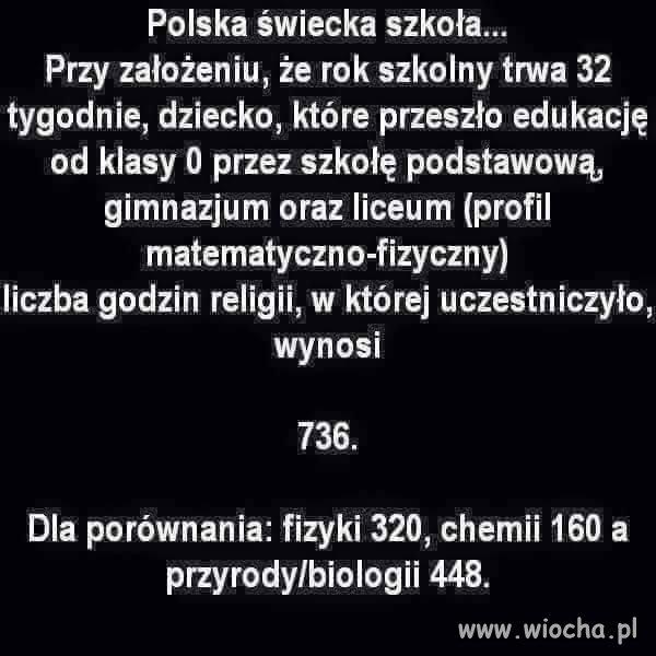 Polska świecka szkoła