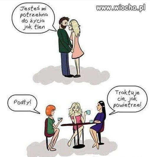 Kobiecie nigdy