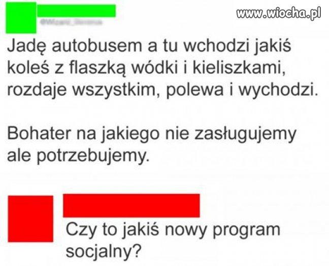 Nowy program socjalny ?