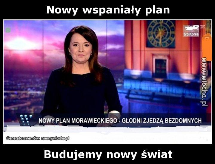 Nowy wspaniały plan