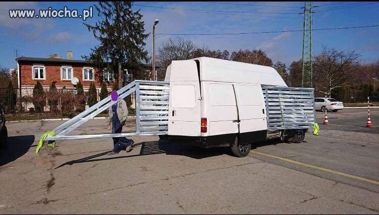 Usługi transportowe bram-sol