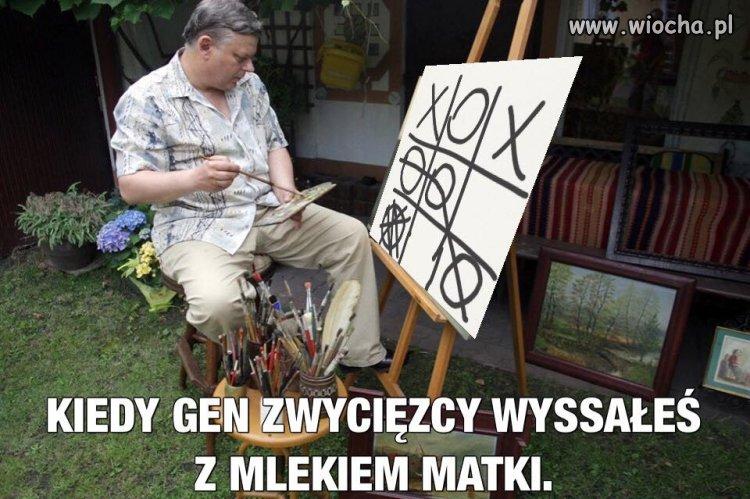 Wybitny intelektualista ...