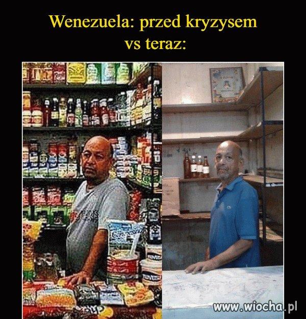 Tymczasem w Wenezueli