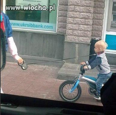 Wyprowadzanie dziecka