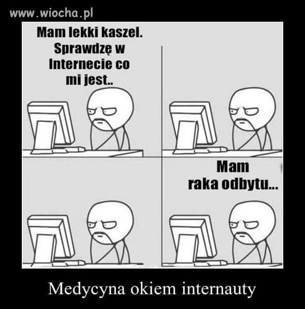 Medycyna internetowa...