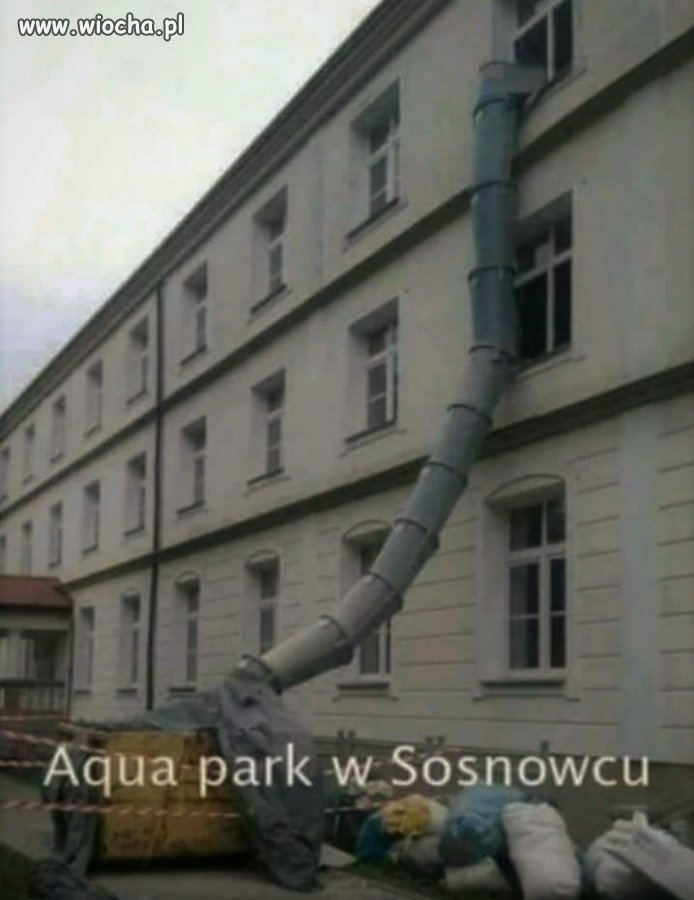Aqua park w Sosnowcu...