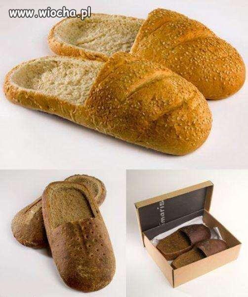Kapcie z chleba...?