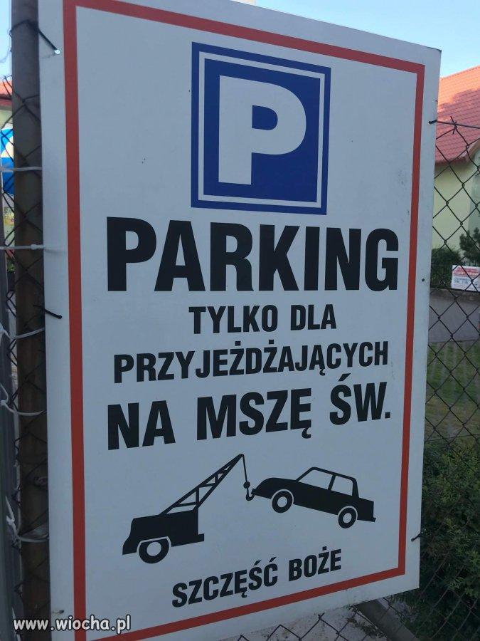 Nie wierzysz, nie parkujesz...