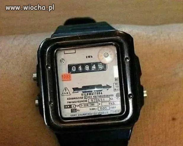 Zegarek retro.
