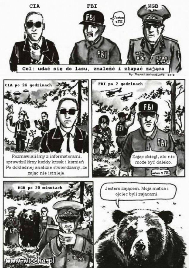 CIA vs  FBI vs  sprawdzone metody czyli KGB - wiocha pl absurd 1398537