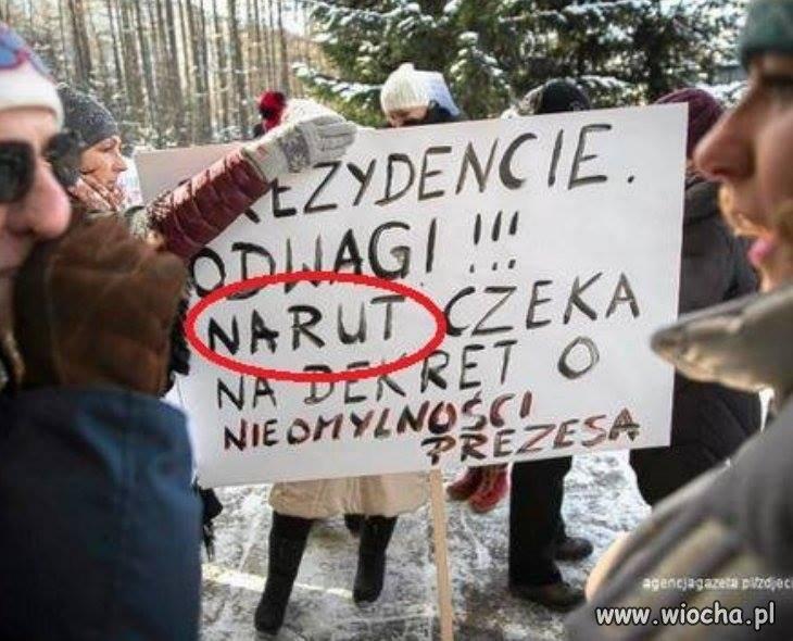 Takie tam z protestu