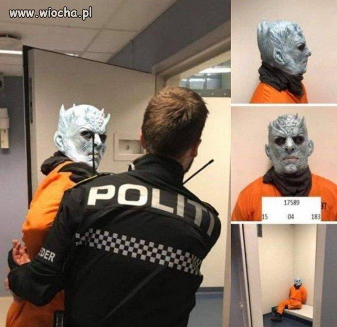 Aresztowano demona