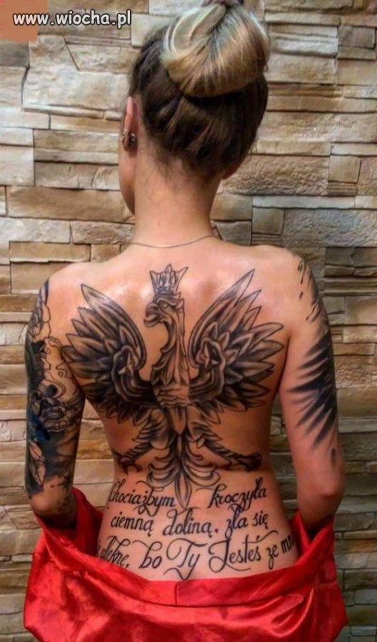 Patriotyczny Tatuaż Wiochapl Absurd 1476850