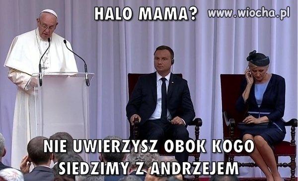 Halo mama ?