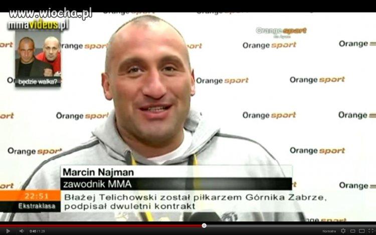 Najman Marcin - zawodnik MMA