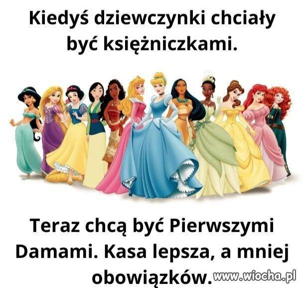 Marzenia dziewczynek