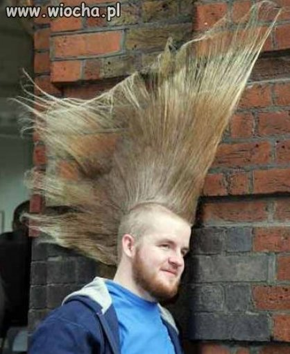 Idelna fryzura...