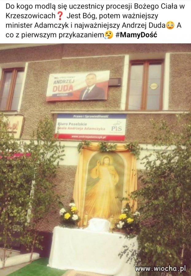 Procesja w Krzeszowicach...