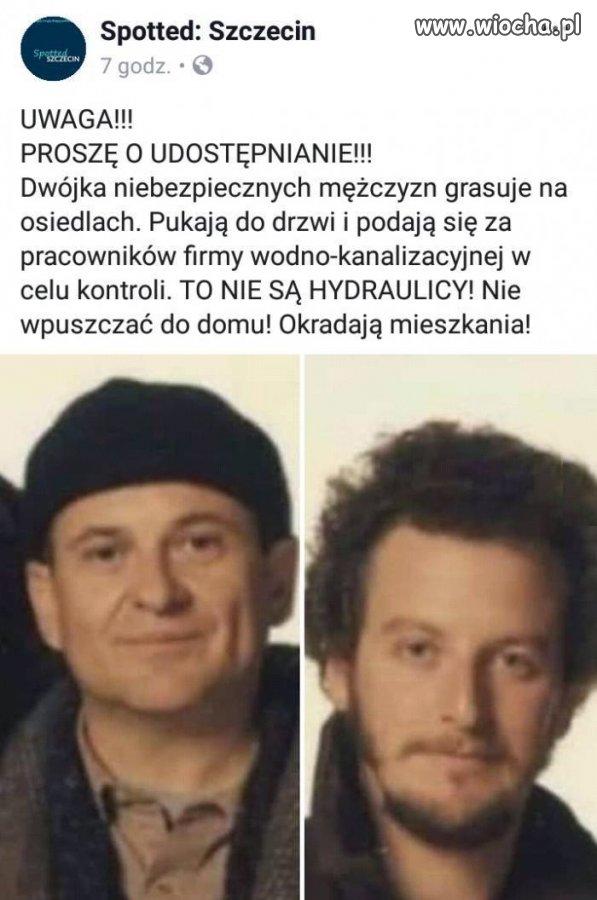 Uwaga! Złodzieje w Szczecinie!