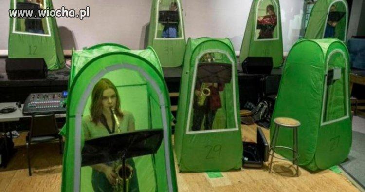 Lekcja Muzyki w Szkole w USA