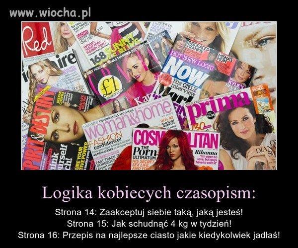 Logika kobiecych czasopism
