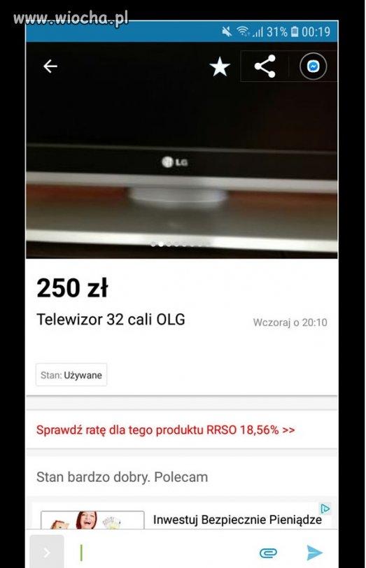 Telewizor OLG