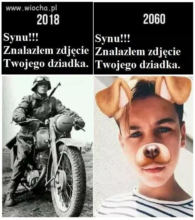 Czasy sie zmieniaja...