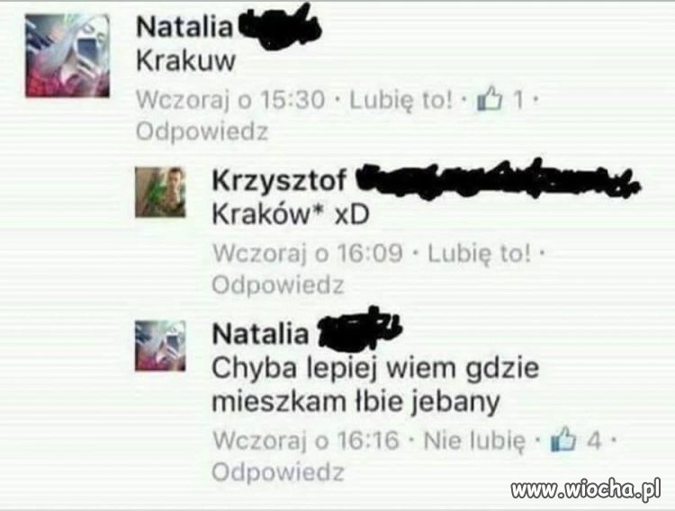 Natalia Krakuw - przyszłością narodu