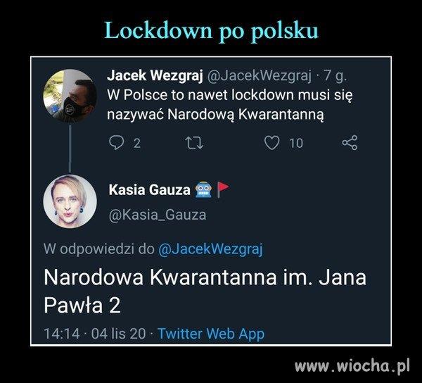Narodowa Kwarantanna imienia JP II ...
