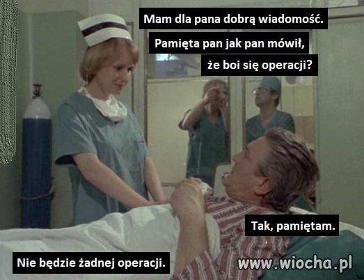 Koniec z operacjami