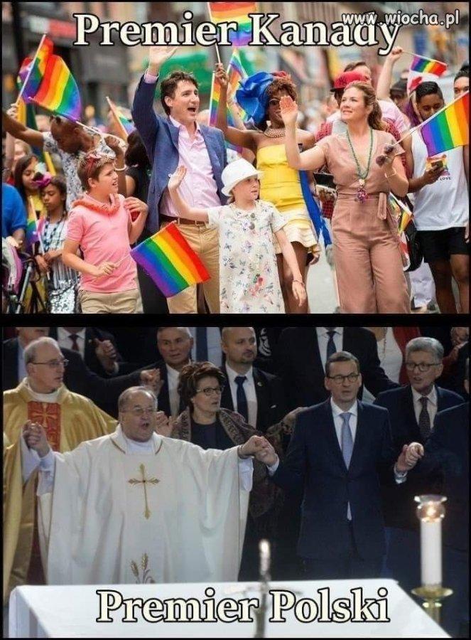Premierzy Polski i Kanady