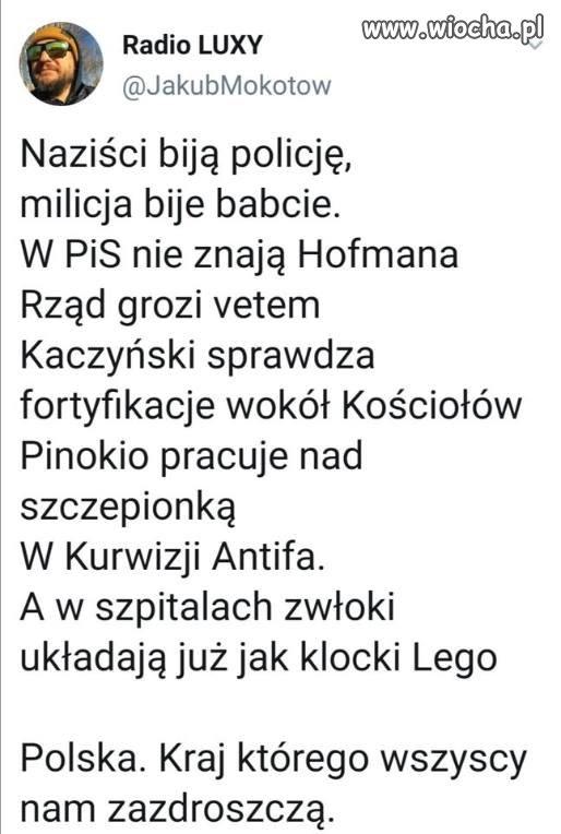 Polska to zajefajny kraj