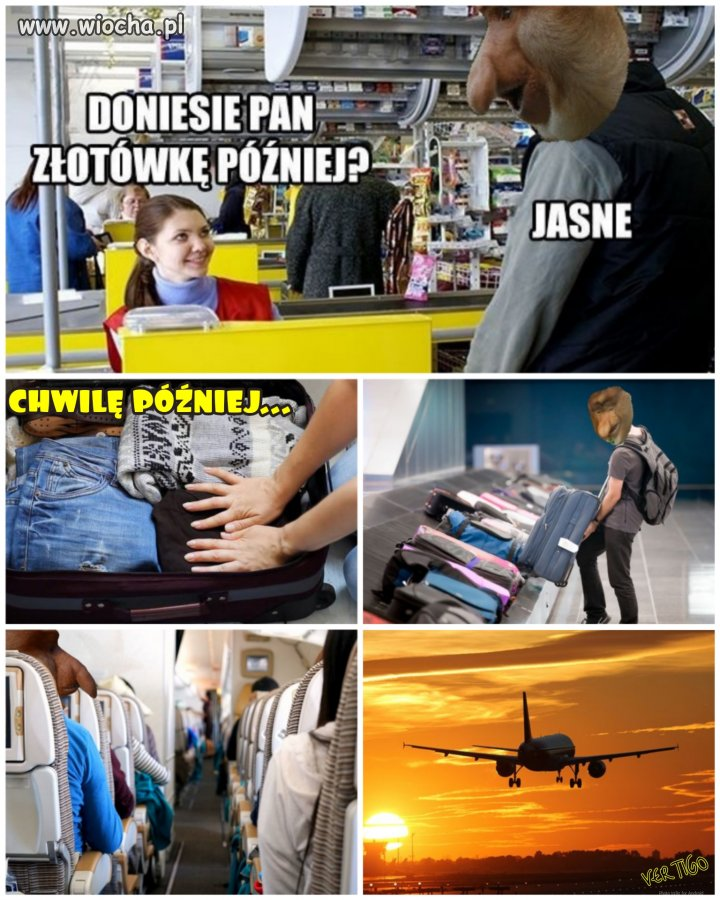 Gdy wisisz w sklepie hajsy