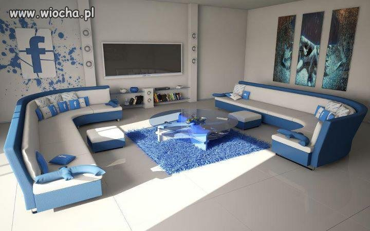 Mieszkanie w stylu facebook