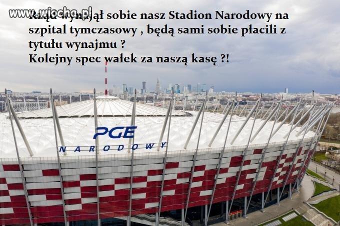 Stadion/szpital narodowy ---
